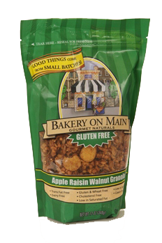 gluten free products using stand bags