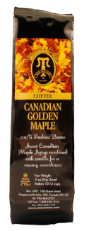 flavored coffee pouch