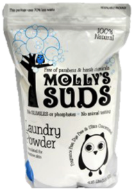 Mollys Suds in Stand Bag