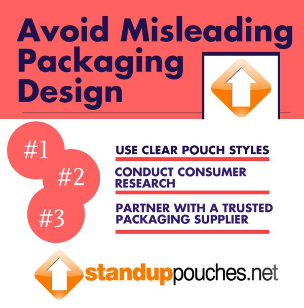 Avoid Misleading Packaging Design Infographic