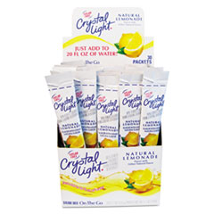 Crystal Light Pouch Packaging