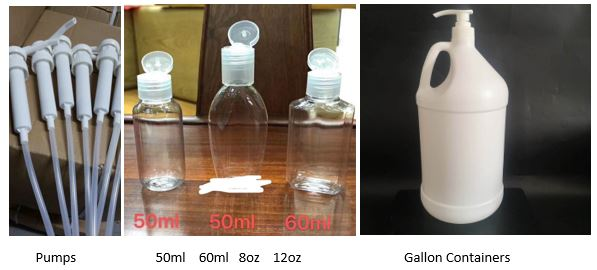 Hand Sanitizer Packaging Options