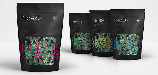 Stand Up Pouches for Cannabis Packaging