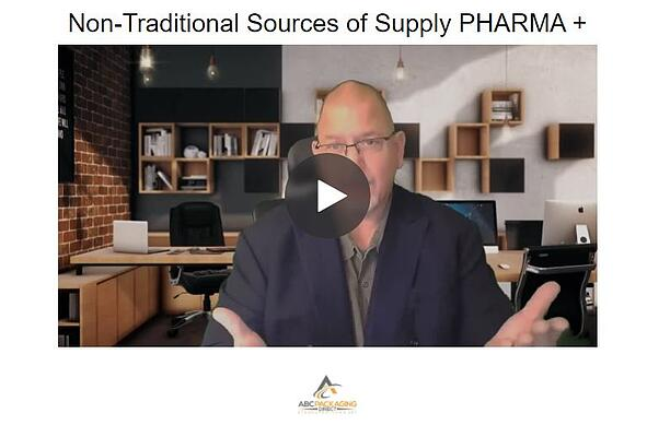 non traditional packaging sources for pill bottles and more
