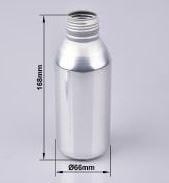 Shaped Smaller Aluminum Bottles