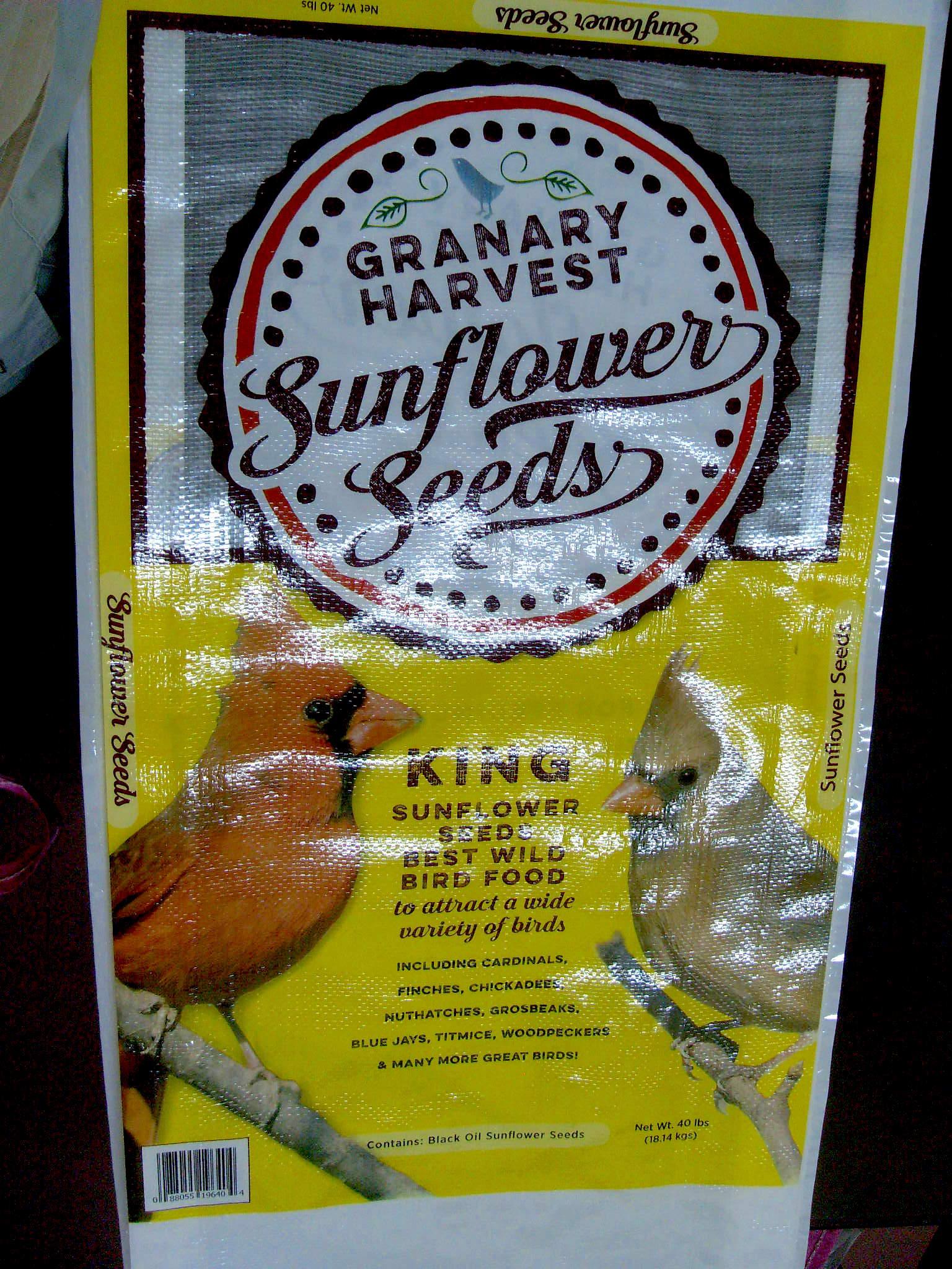 woven polypropylene bags for sunflower seeds
