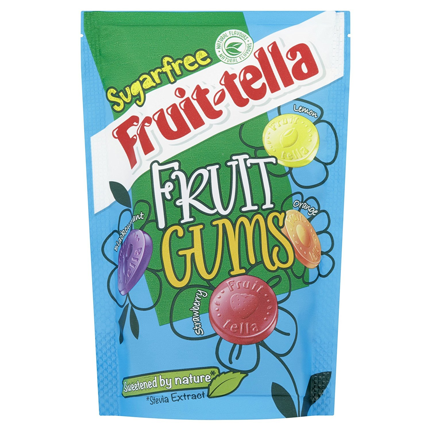 Sugar Free Fruit Snacks in Stand Up Pouch