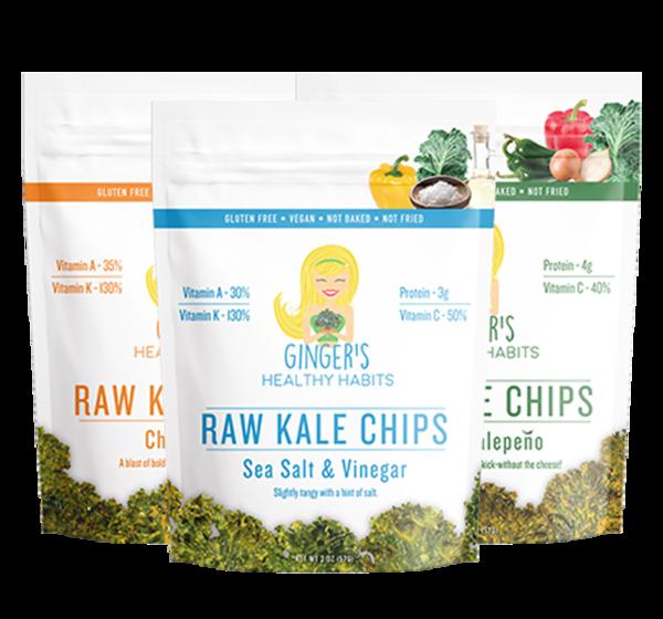 Ginger's Healthy Habits Health Food Packaging