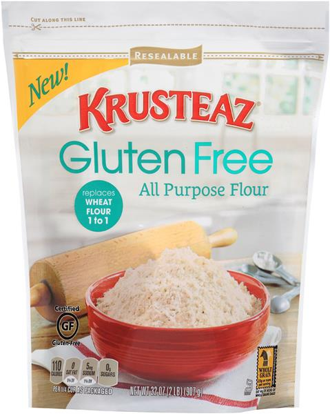Gluten Free Product in Stand Bag