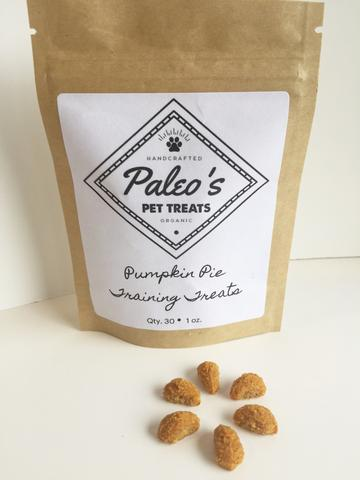 Paleos Dog Treats in Kraft Stand Up Pouch