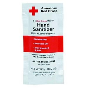 flat barrier bags for hand sanitizer