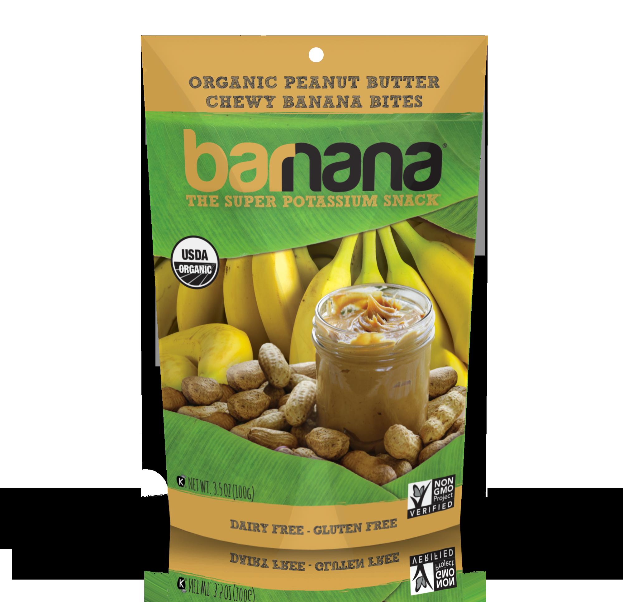 Barnana brand custom food packaging