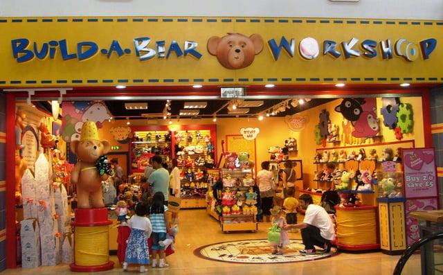 Build-A-Bear Workshop Retail Location