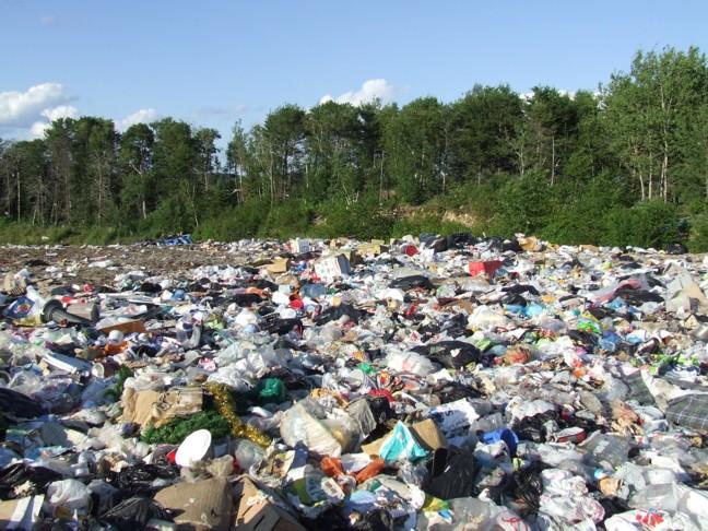 packaging-in-landfill