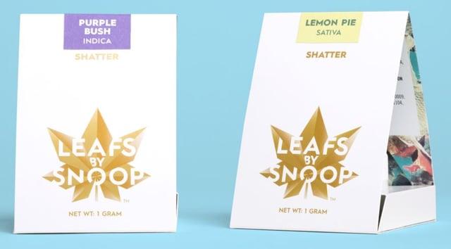 Leafs By Snoop Cannabis Packaging