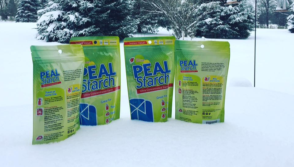 Peal Starch Custom Printed Pouches