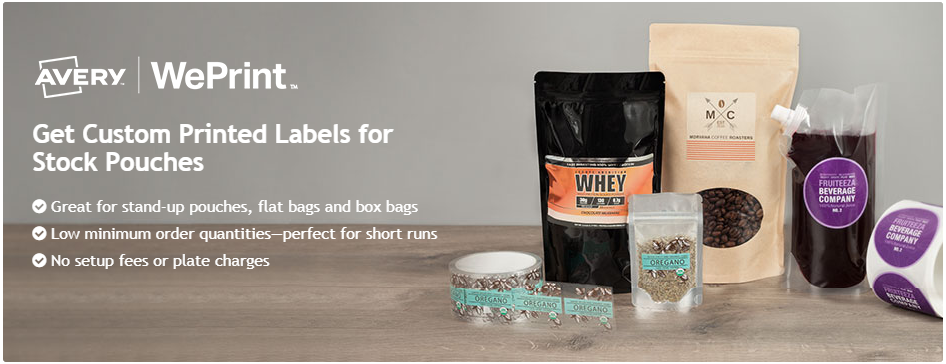 Avery WePrint Custom Labels
