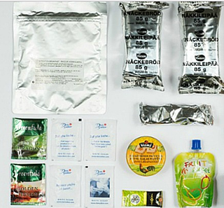 Army Meals in Flexible Retail Packaging