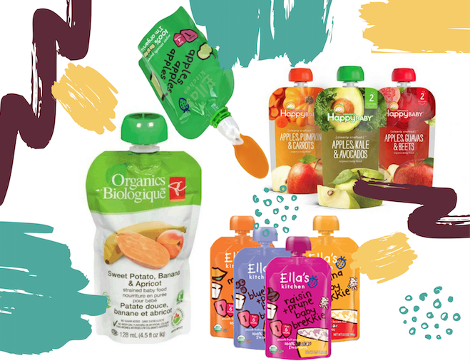 Baby Food Packaging in Spouted Stand Up Pouches
