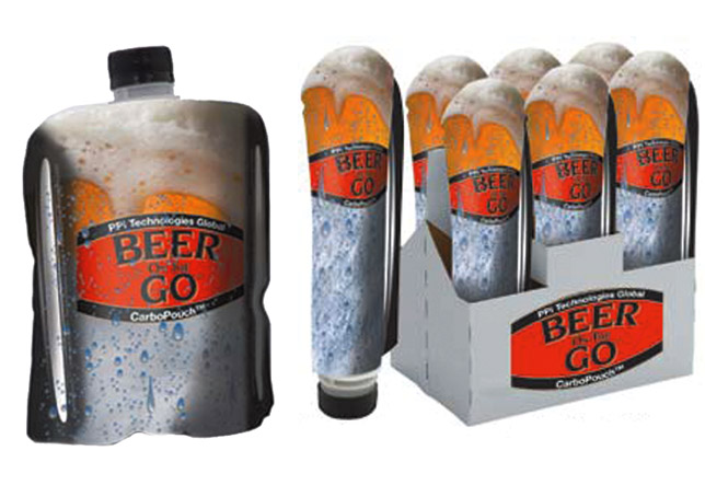 Beer Packaging in Flexible Alcohol Pouches