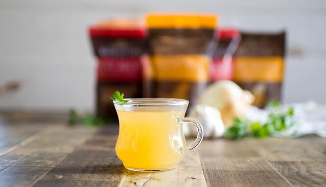 Bone Broth Packaging in Flexible Pouches