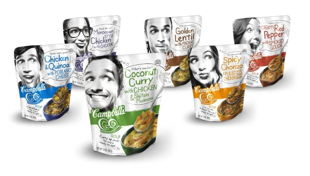 Campbell's Flexible Soup Packaging