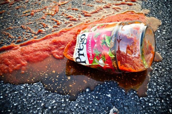 Broken Sauce Jar