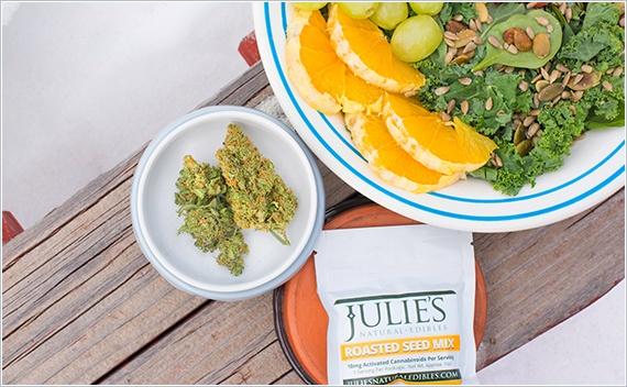 Marijuana Edibles in Flexible Packaging