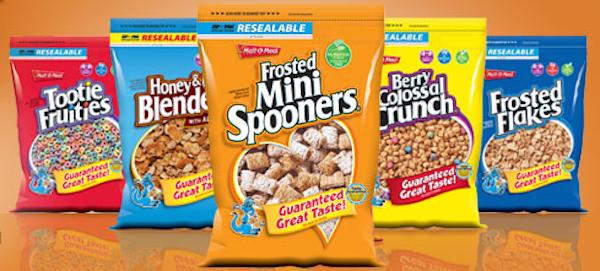 Post Malt-O-Meal Cereal Packaging in Custom Printed Bags