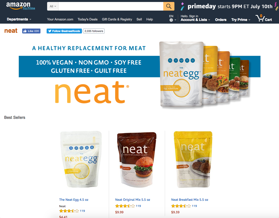 neat on Amazon.com