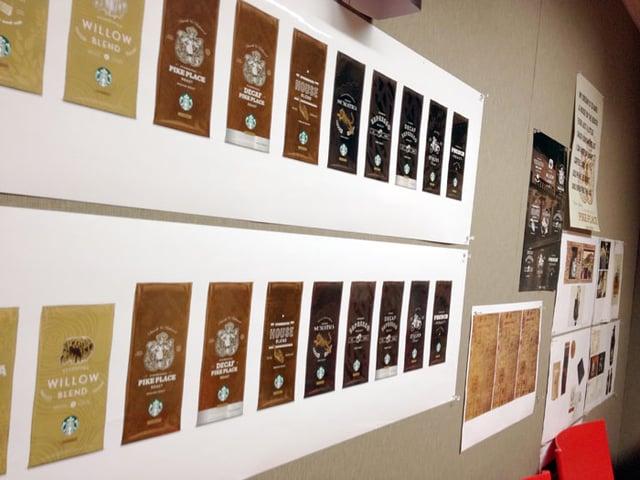 Starbucks Coffee Packaging Designs