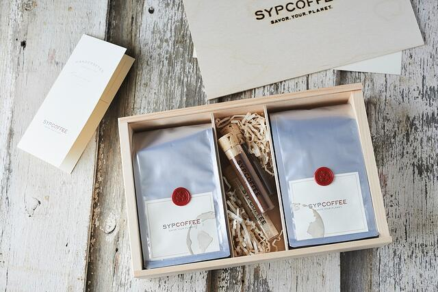 SYPCOFFEE bags for roasted coffee