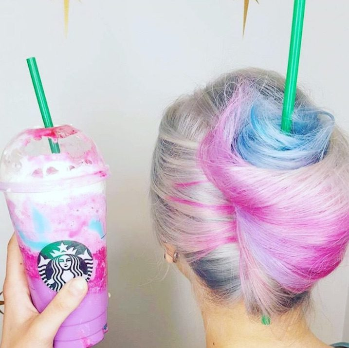 Starbucks Unicorn Frappuccino Visual Branding