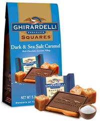 Ghiradelli Chocolate in Flat Bottom Bag