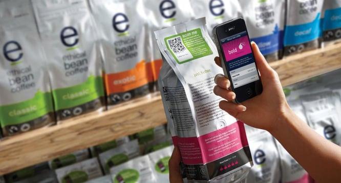 QR Code on Flexible Packaging