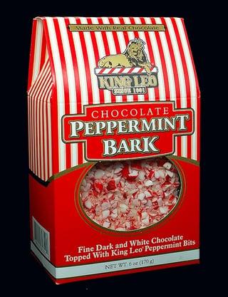 Pepperming Bark in Flexible Box Bag