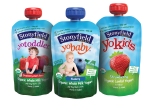 Stonyfield Yo Baby Probiotics in Liquid Pouch with Spout