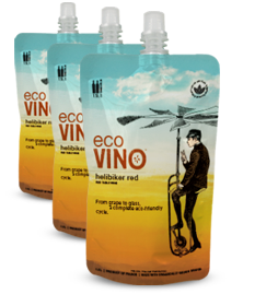 Wine in Eco-Friendly Pouches