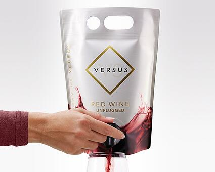 Wine in Spouted Pouch