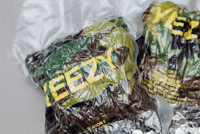 YEEZY Jackets in Vacuum Sealer Bags