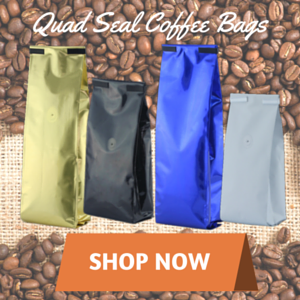 quad seal coffee bags
