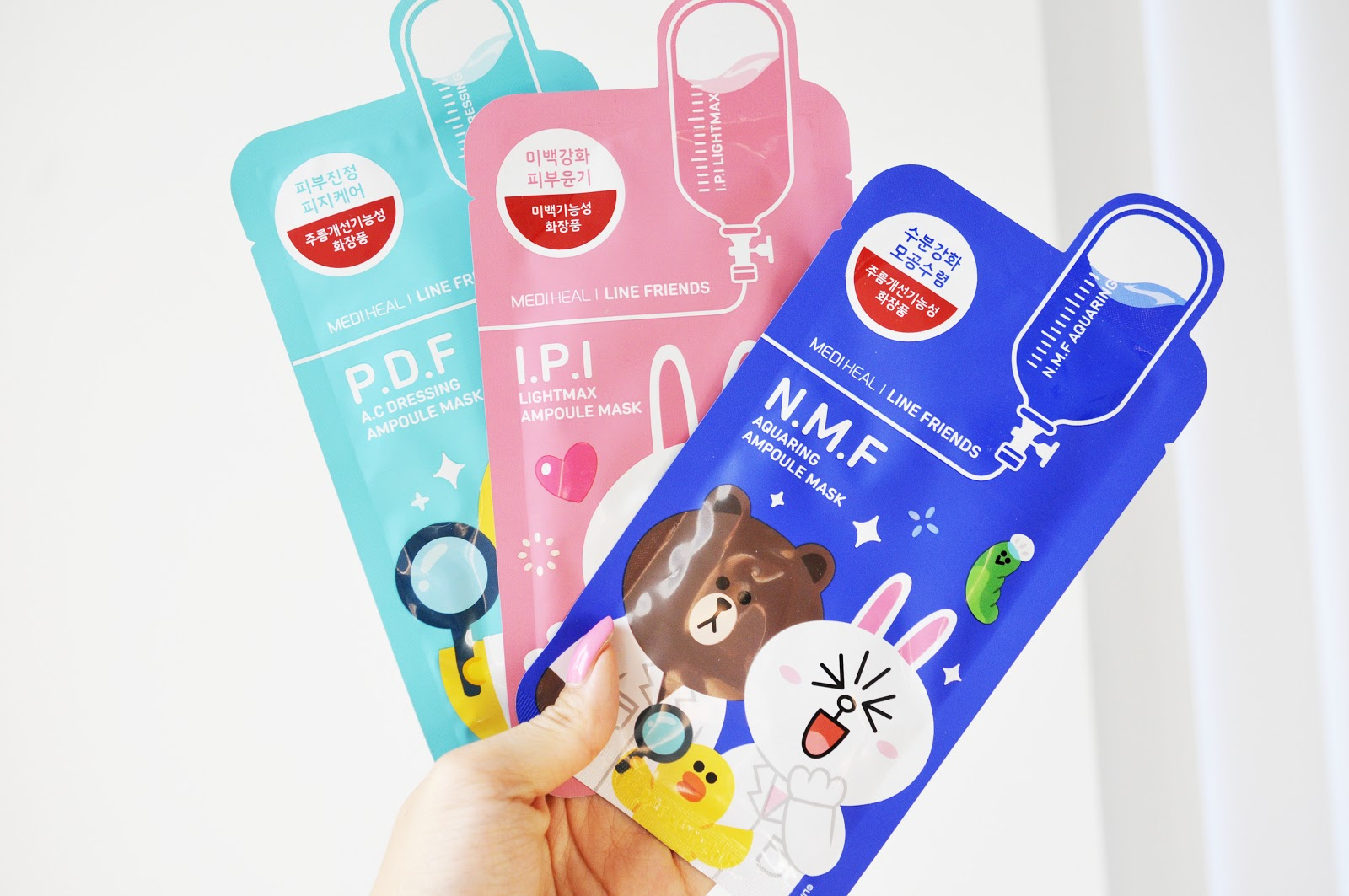Line Friends X MediHeal Face Masks Review Demo Canada Korean Beauty.jpg