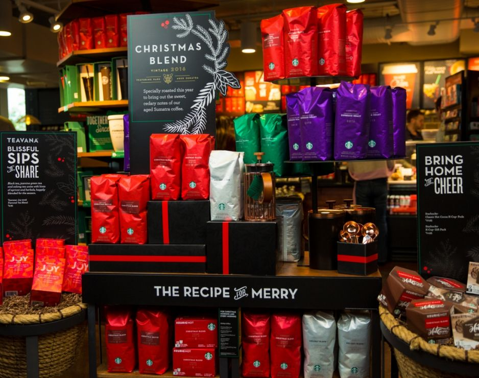 Starbucks Traditional Coffee Packaging
